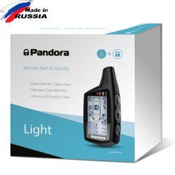 Pandora Light - интерфейсна алармена система с 2-канално дистанционно