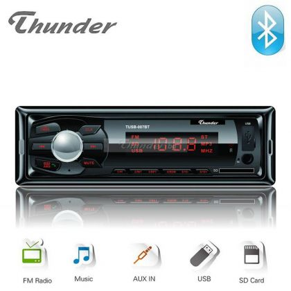 Thunder TUSB-007BT Авторадио с Bluetooth, USB/SD card и Aux